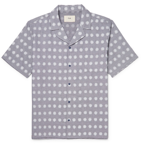 Folk shirt at Mr Porter - £130 - The shirt of the summer -m easy to wear with anything and everything