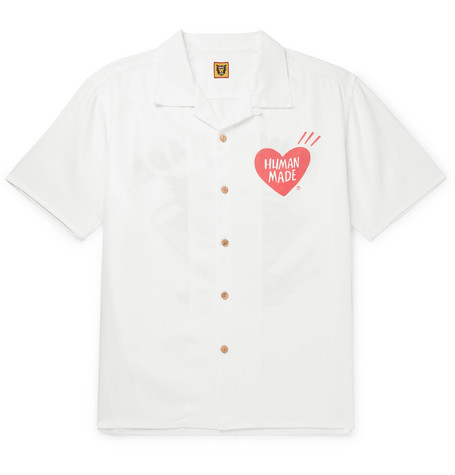Human Made camp collar shirt - £220 - All you need is a pair of jeans and box fresh white sneaks