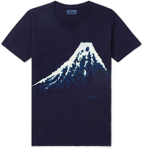 Blue Blue Japan T-shirt - £75 - The superb print of Mount Fuji might inspire you to climb up it