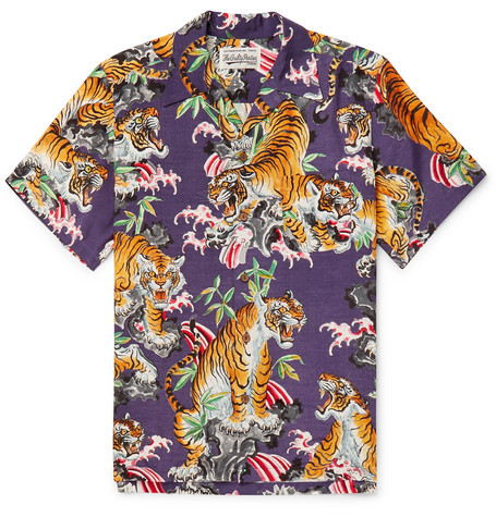 Wacko Maria shirt - £415 - Now for something completely wild, nothing says Japanese design like roaring tigers