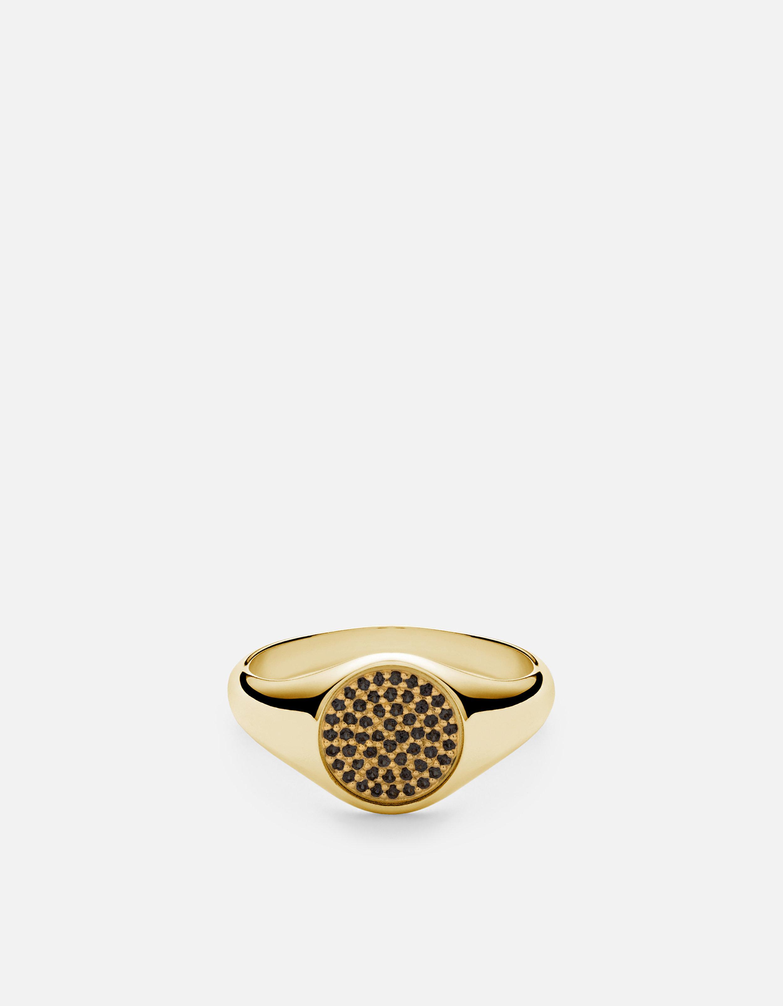 Horizon Signet Ring, Gold Vermeil w blackSapphires_hq.jpg