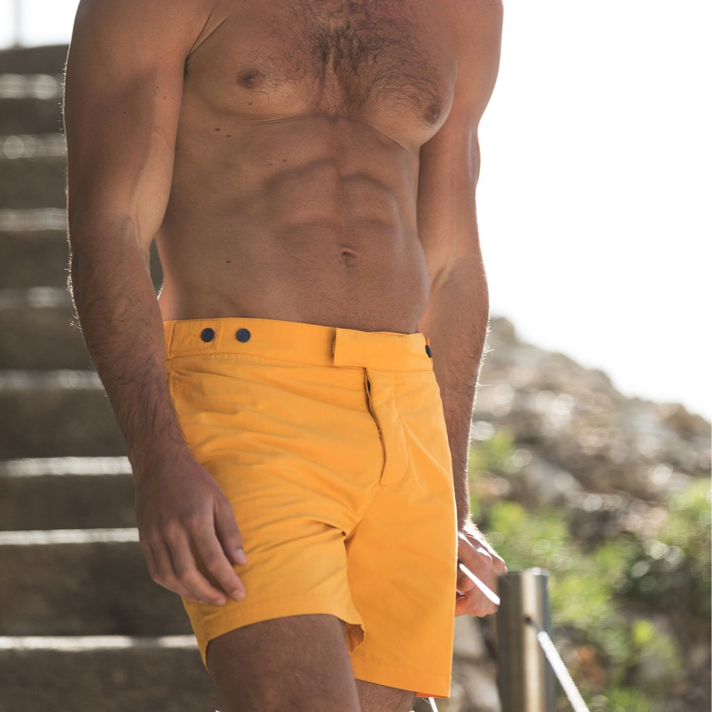 Orlebar Brown  Founded by Mr. Adam Brown in 2017, specialists in tailored swim shorts for men. Known for classic design & bold colour   www.orlebarbrown.com