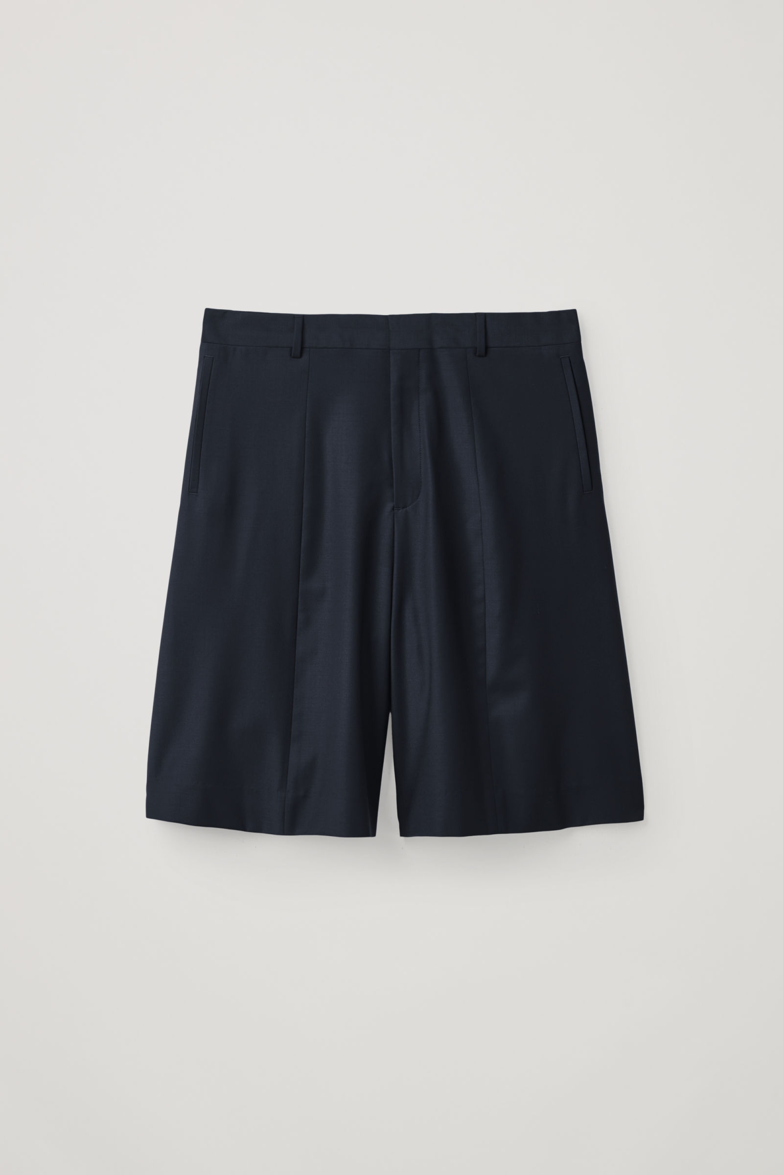 COS shorts - £59 - Obsessed with these pleated and tailored shorts which are perfect for a rakish summer night (especially when paired with the above jumper and a pair of sleek leather sandals)