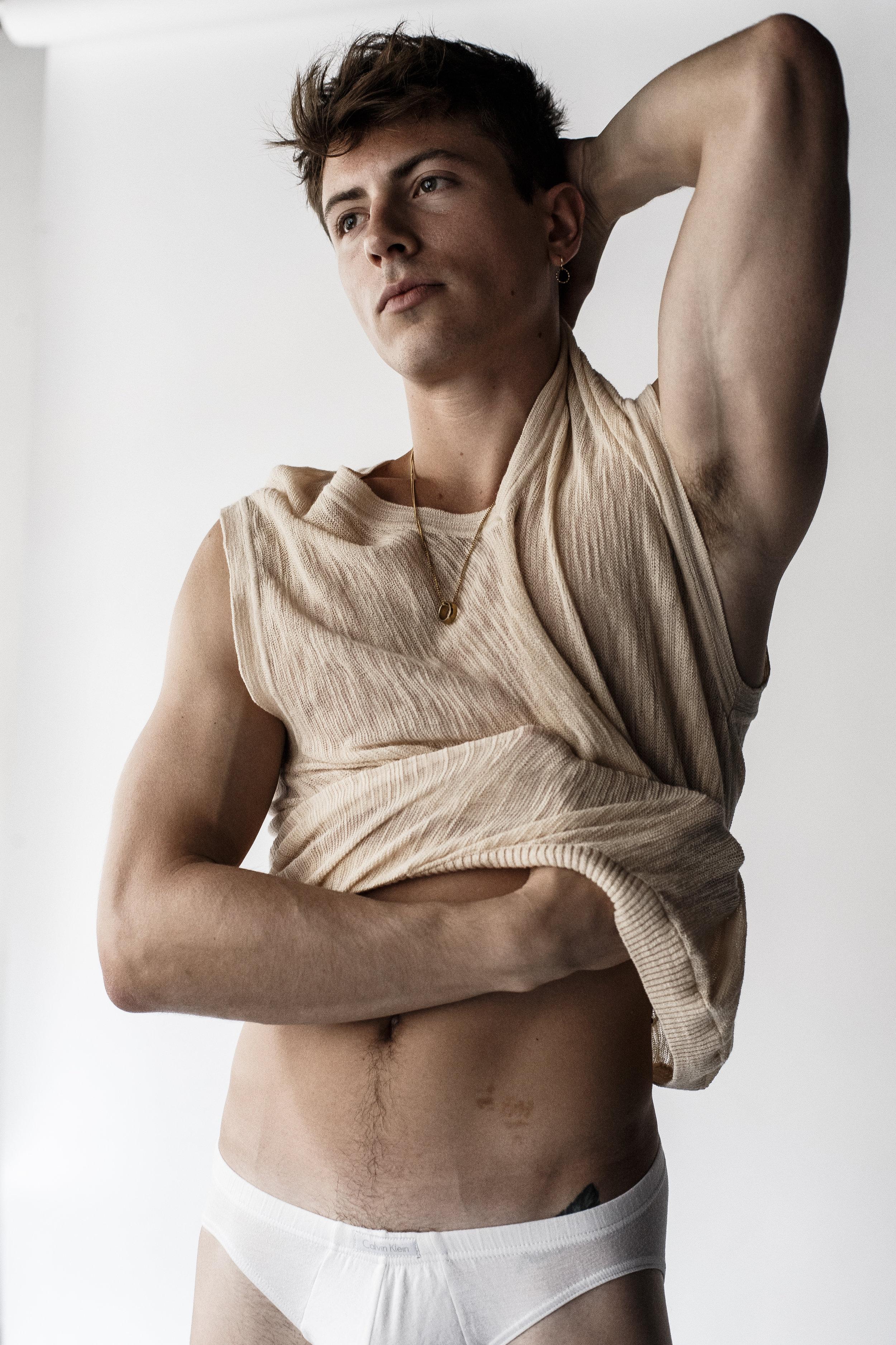 Knit -  Jacquemus , Underwear -  Calvin Klein
