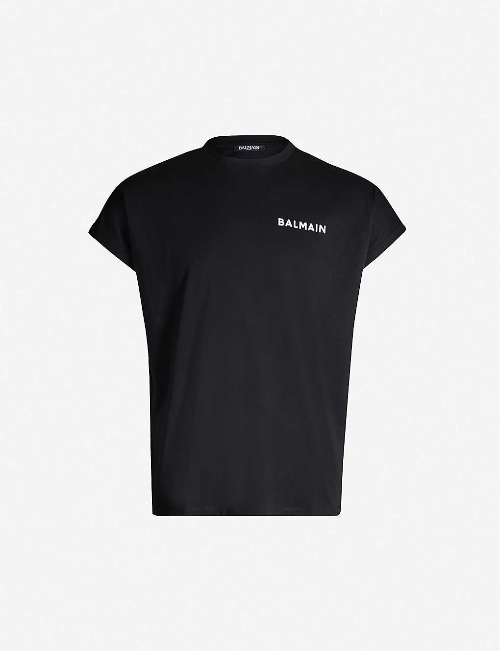 Balmain T-shirt at Selfridges - £170 - Style up or style down - the choices are endless