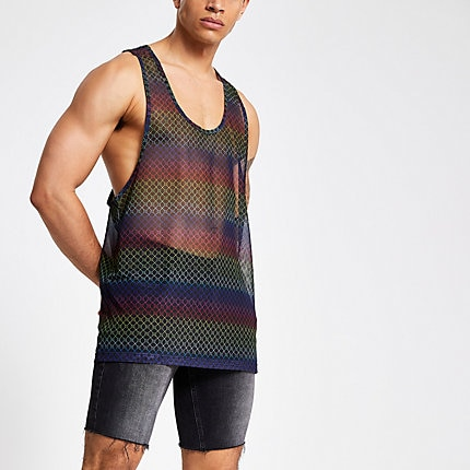 River Island vest - £15 - Show off those biceps in style.