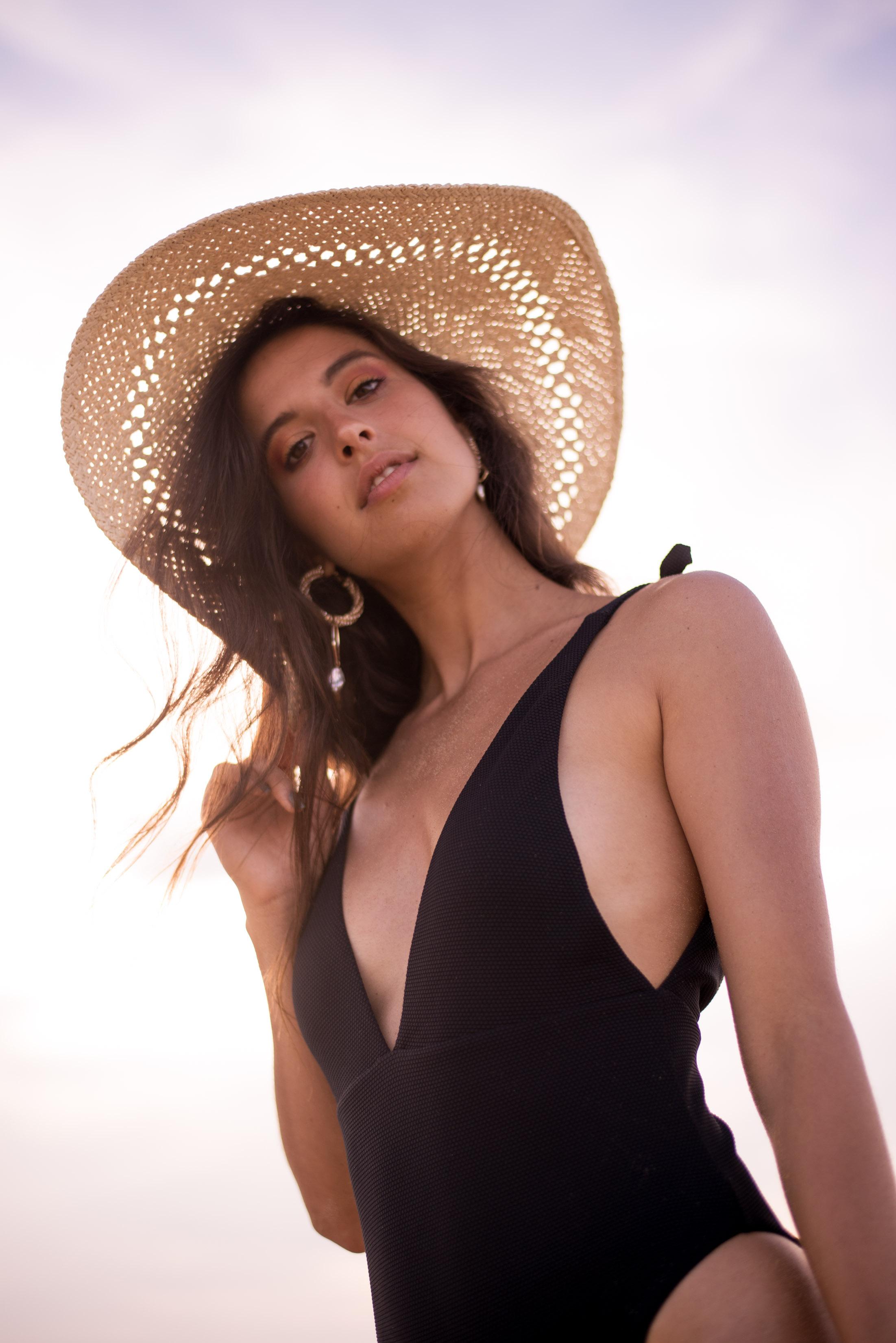 Swimwear -  Calezdonia , Hat -  H&M