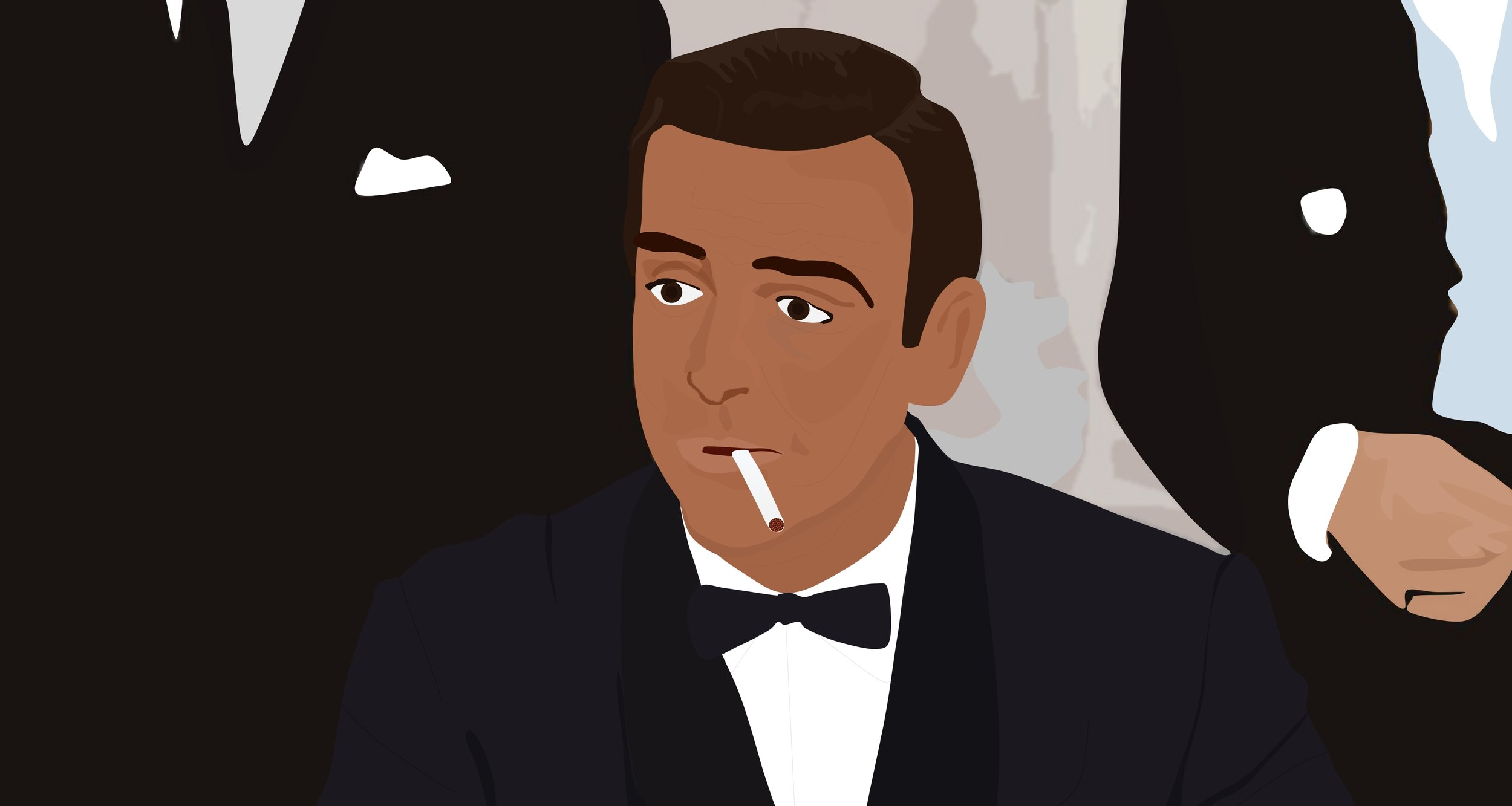 Fictional Style Hero: James Bond  by Taj Hayer, illustrated by  Isaac Zeuqram