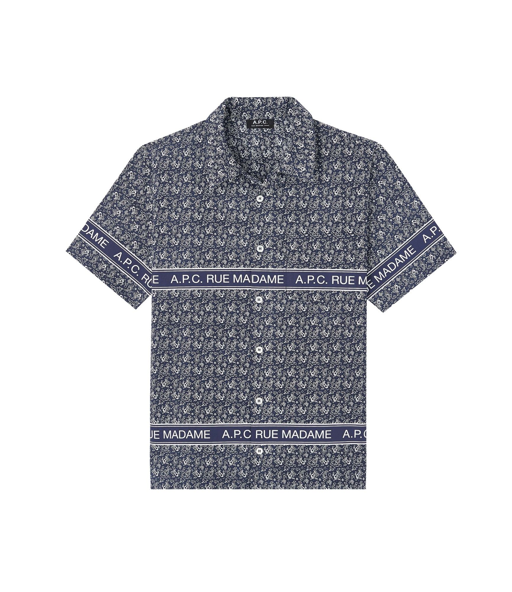 APC bandana print shirt - €175 - It's suddenly become a lot easier to wear this season's bandana trend on a shirt
