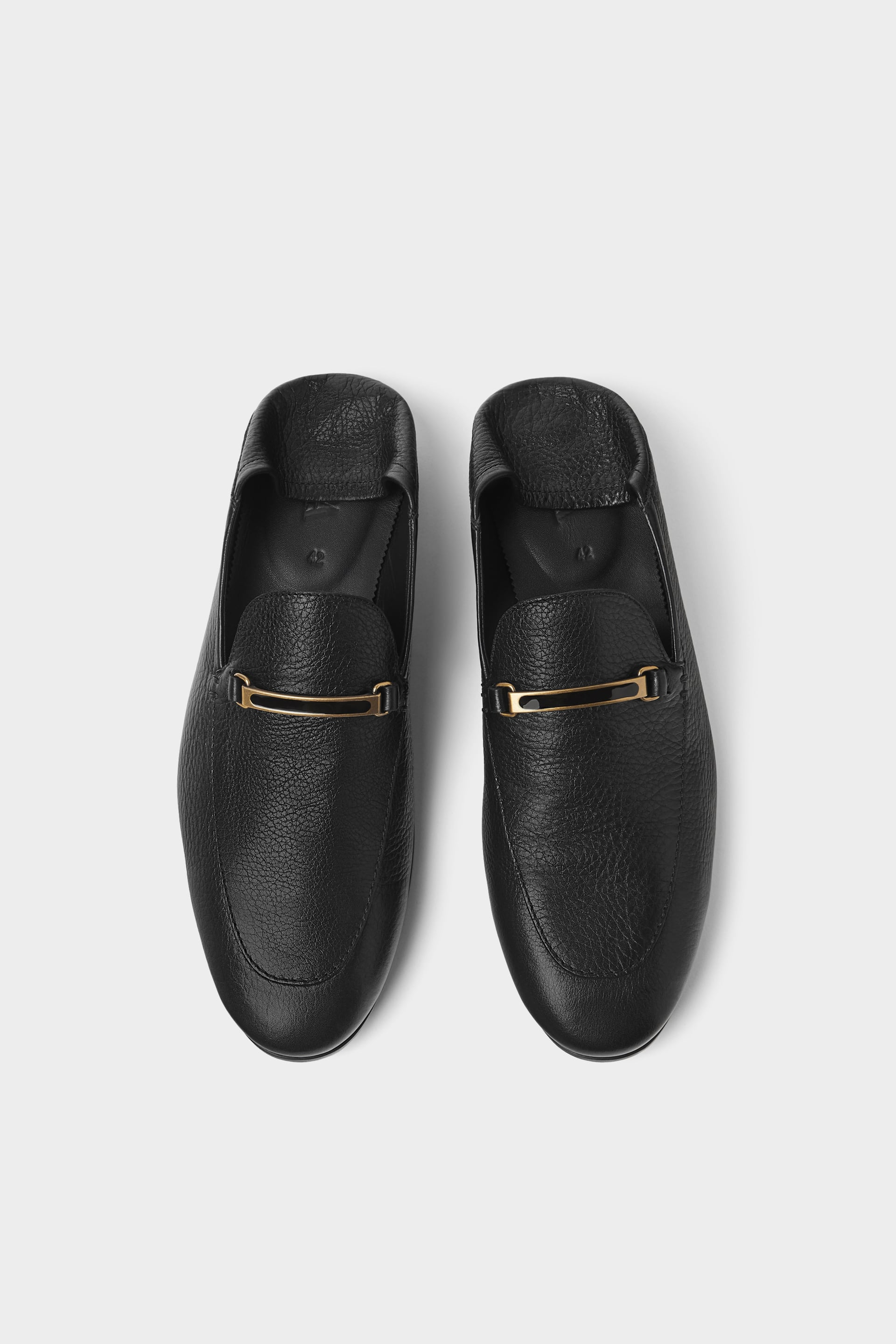 Zara loafers - £69.99 - Zara continues to do what it does best - be inspired by the catwalk and brings those trends to the high street