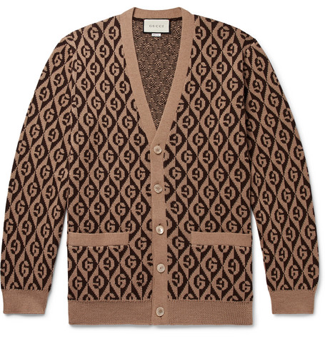 Gucci cardigan at Mr Porter - £850 - If any brand is going to bring back the cardigan, its going to be Gucci
