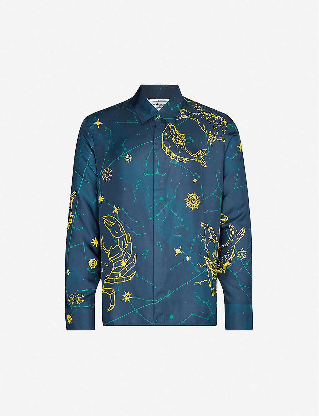 Casablanca shirt at Selfridges - £535 - Would look the business under the flashing lights of a night club