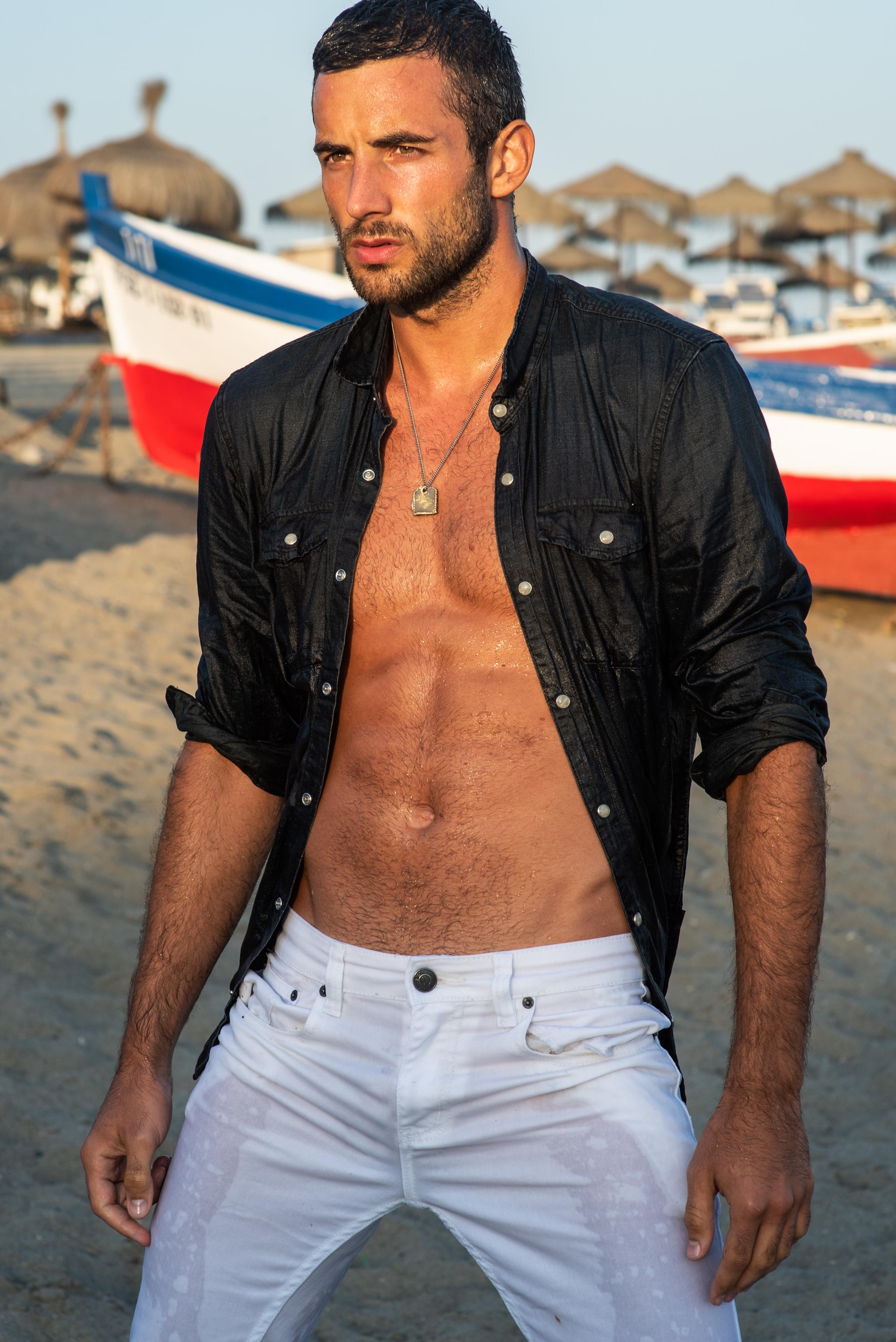 Shirt -  John Varvatos , Jeans -  Victorious Denim