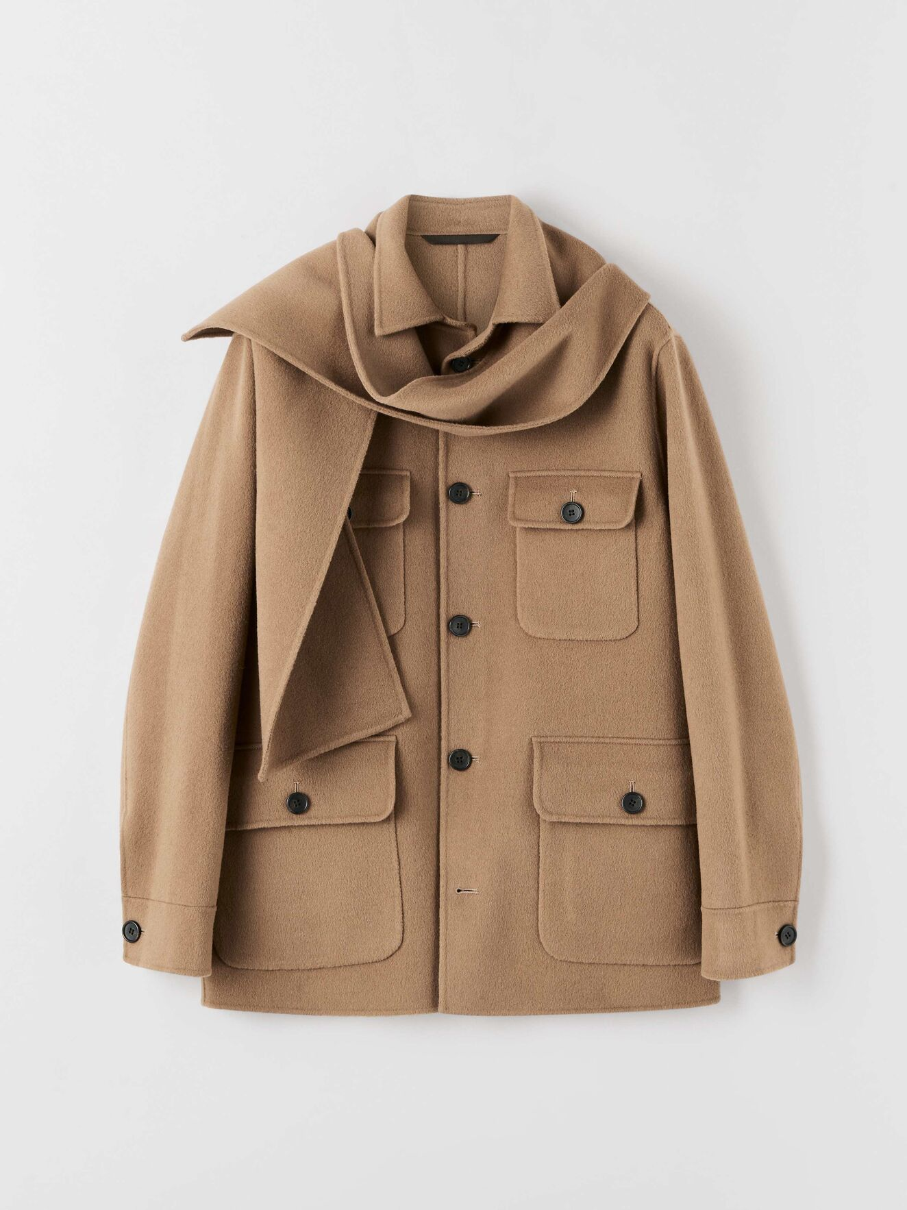 Tiger of Sweden jacket - £849 - It's a jacket with a detachable scarf, so it makes it worth the money doesn't it?