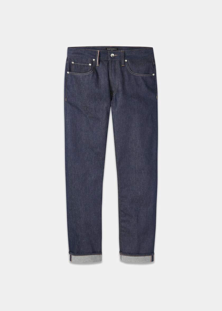 Gloverall Harold jeans - £110 - High quality raw selvedge denim in a straight leg - these are your new wardrobe staple