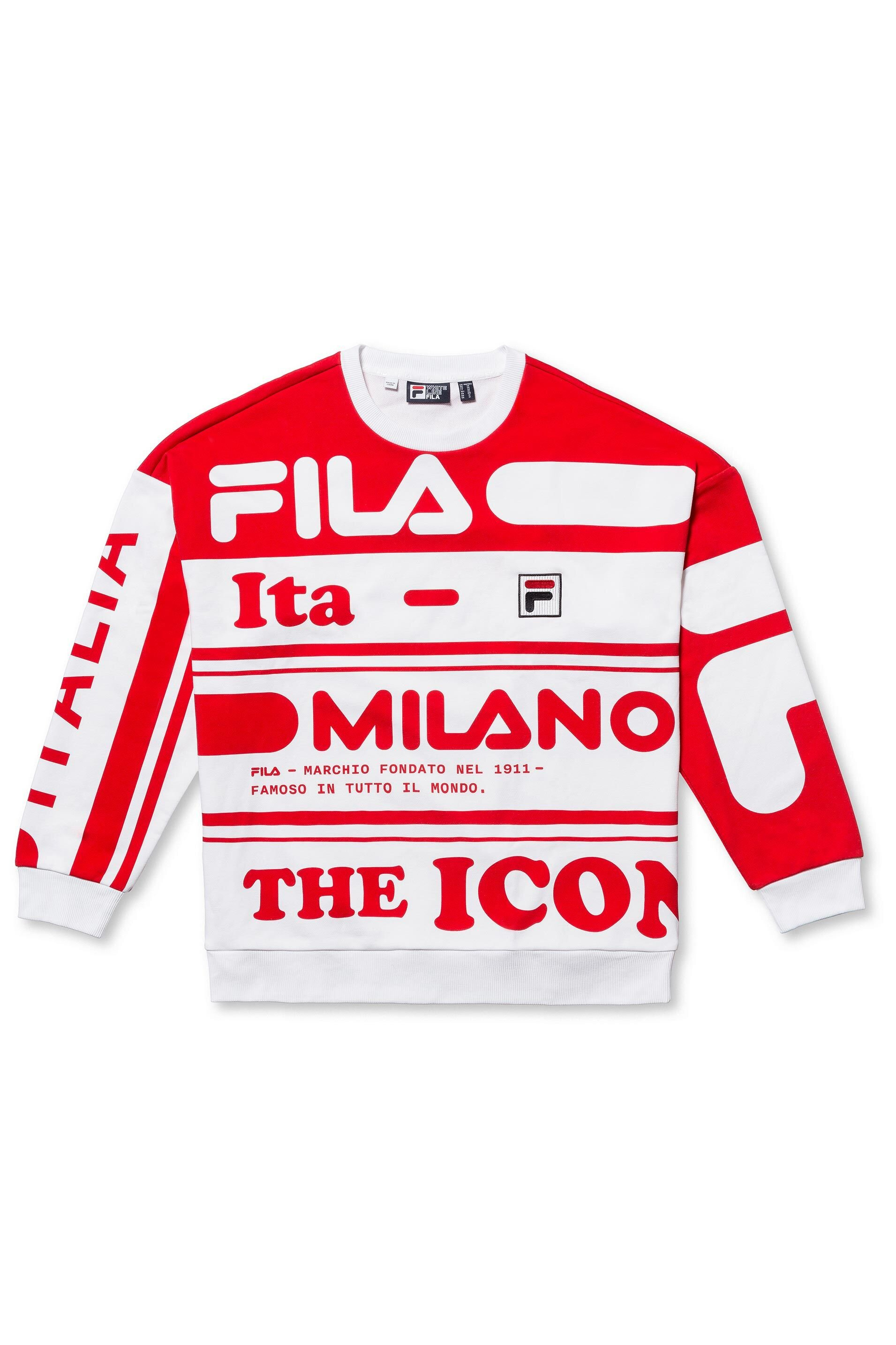 FILA sweater - £135 - Straight from the Milan catwalks to your wardrobe