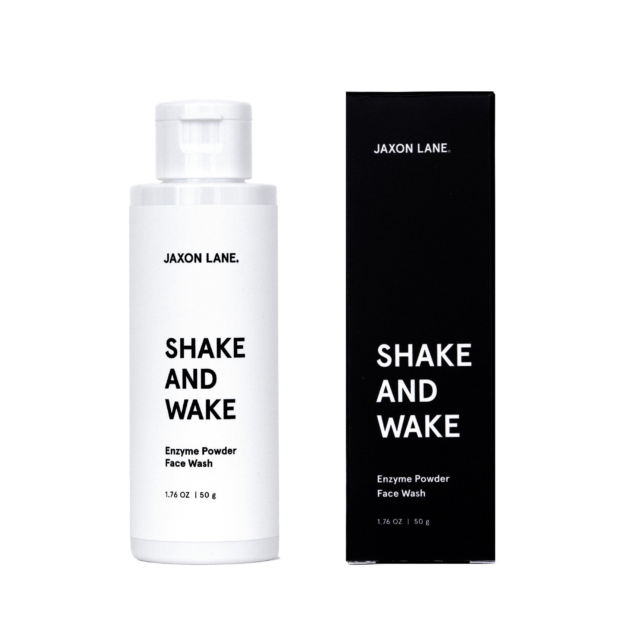 Shake and Wake Face Wash $34