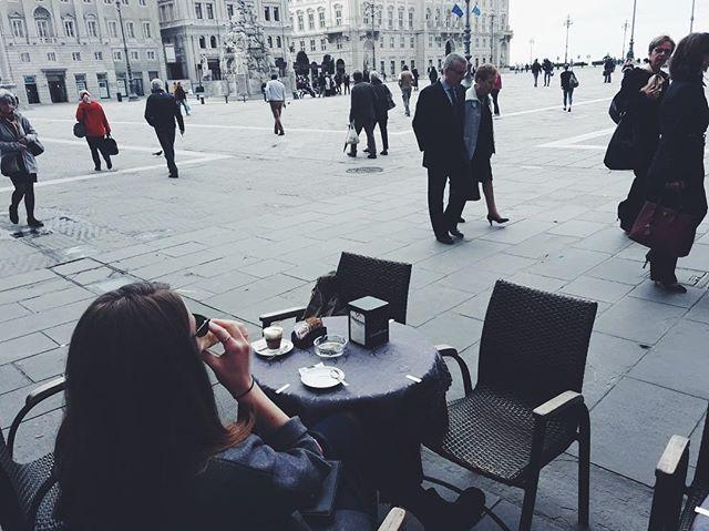 100% in my element. #citiesforpeople #acitymadebypeople #coffeeculture #mytinyatlas #suitcasetravels #visittrieste #triestesocial #exploreeverything  #lifeandthyme @lifeandthyme