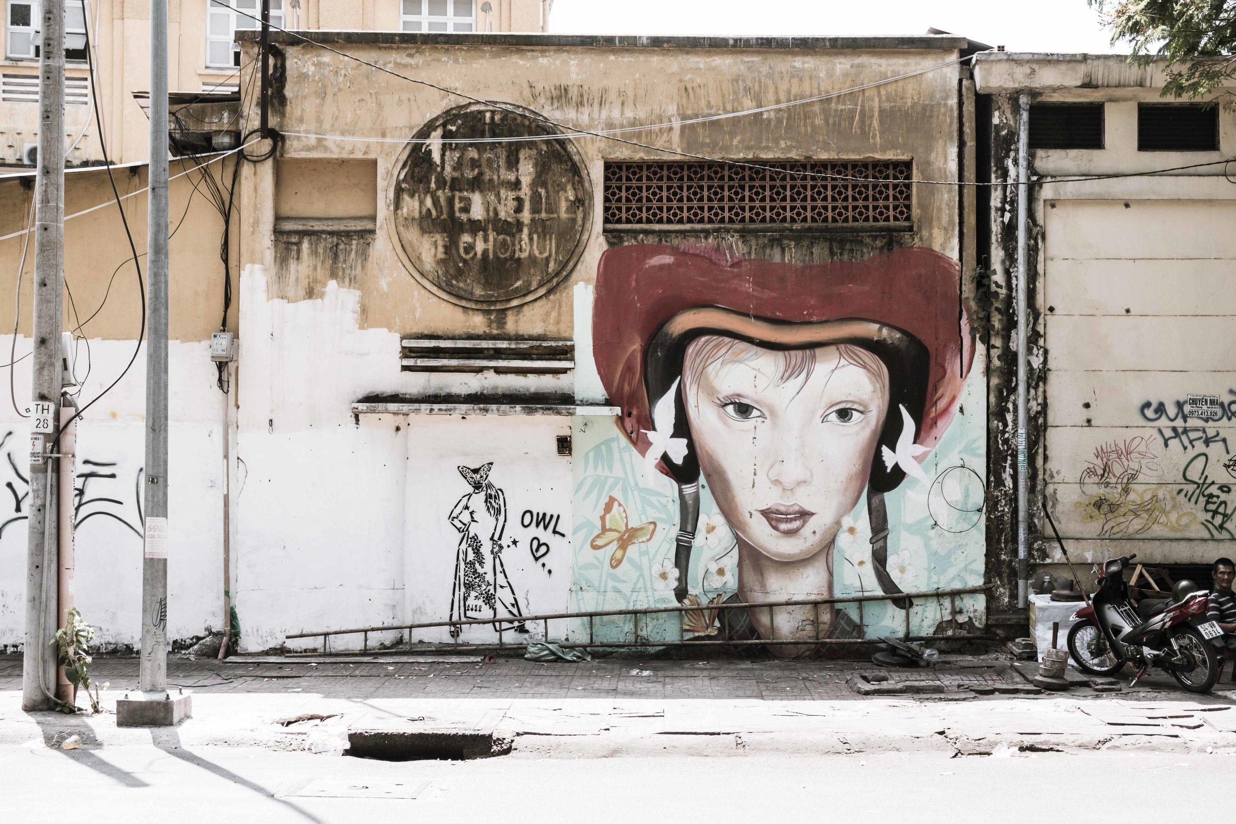 Street Art in Saigon