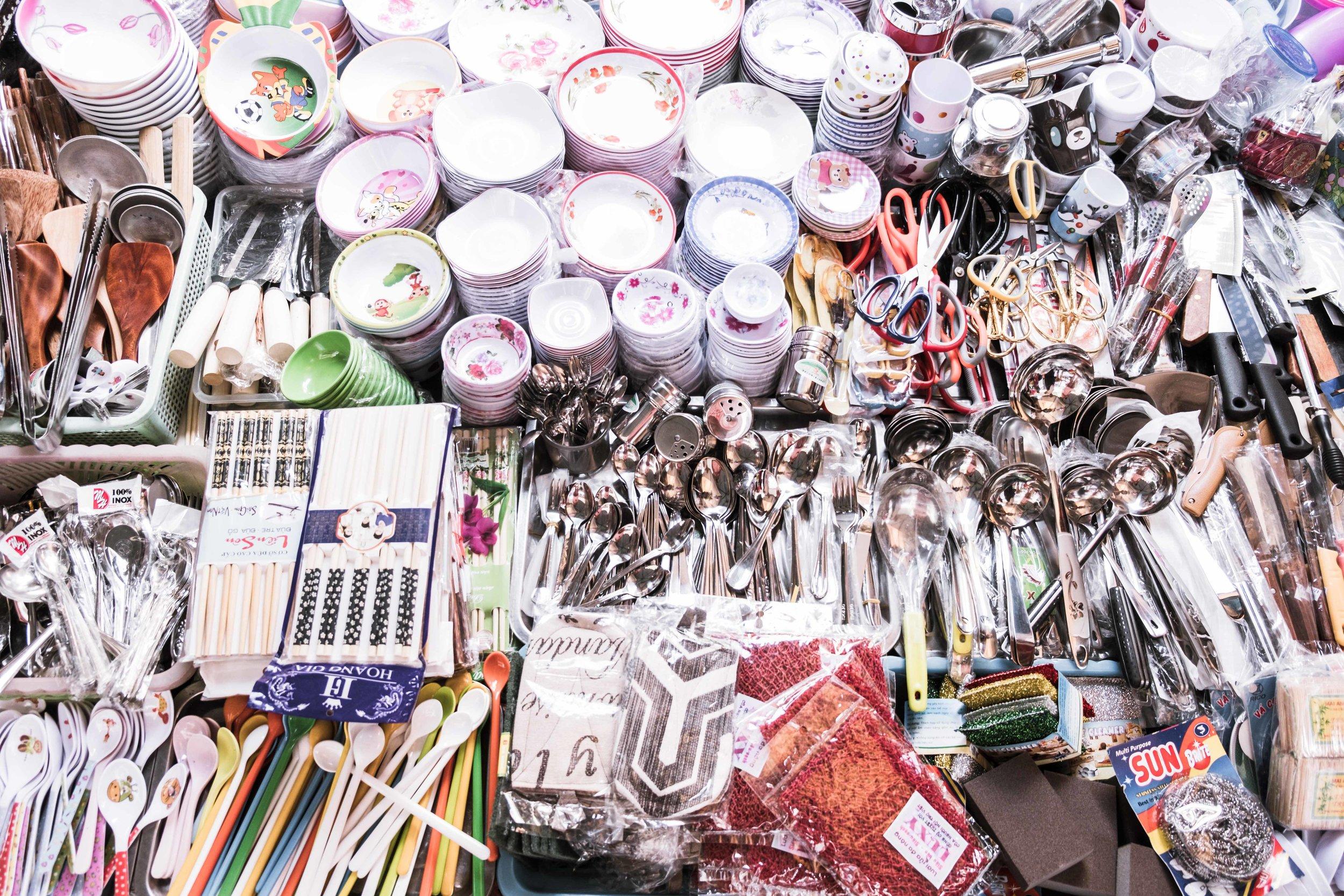 Thai Bin Market, Saigon
