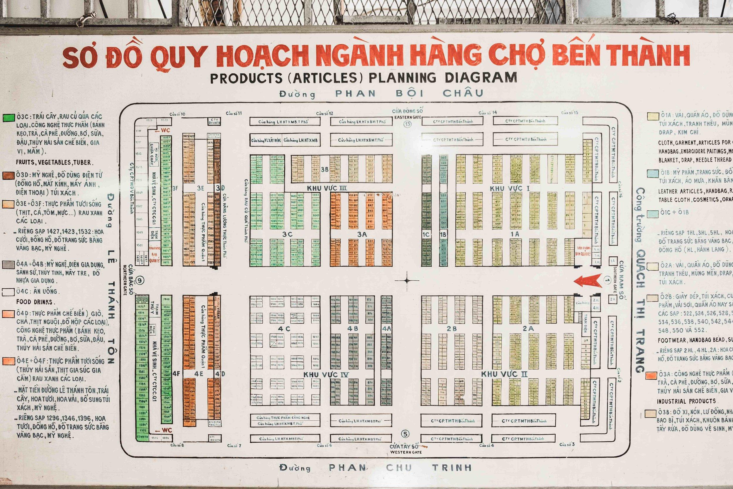 Cho Ben Thanh Market Saigon