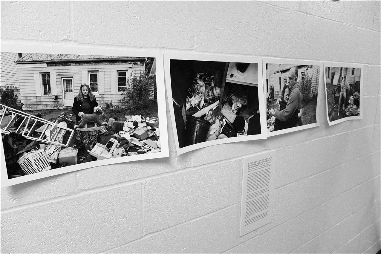 The Quincy Illinois Poverty Project exhibit is available for showing. Request are welcome. Simply contact us through our contact page in the top menu.