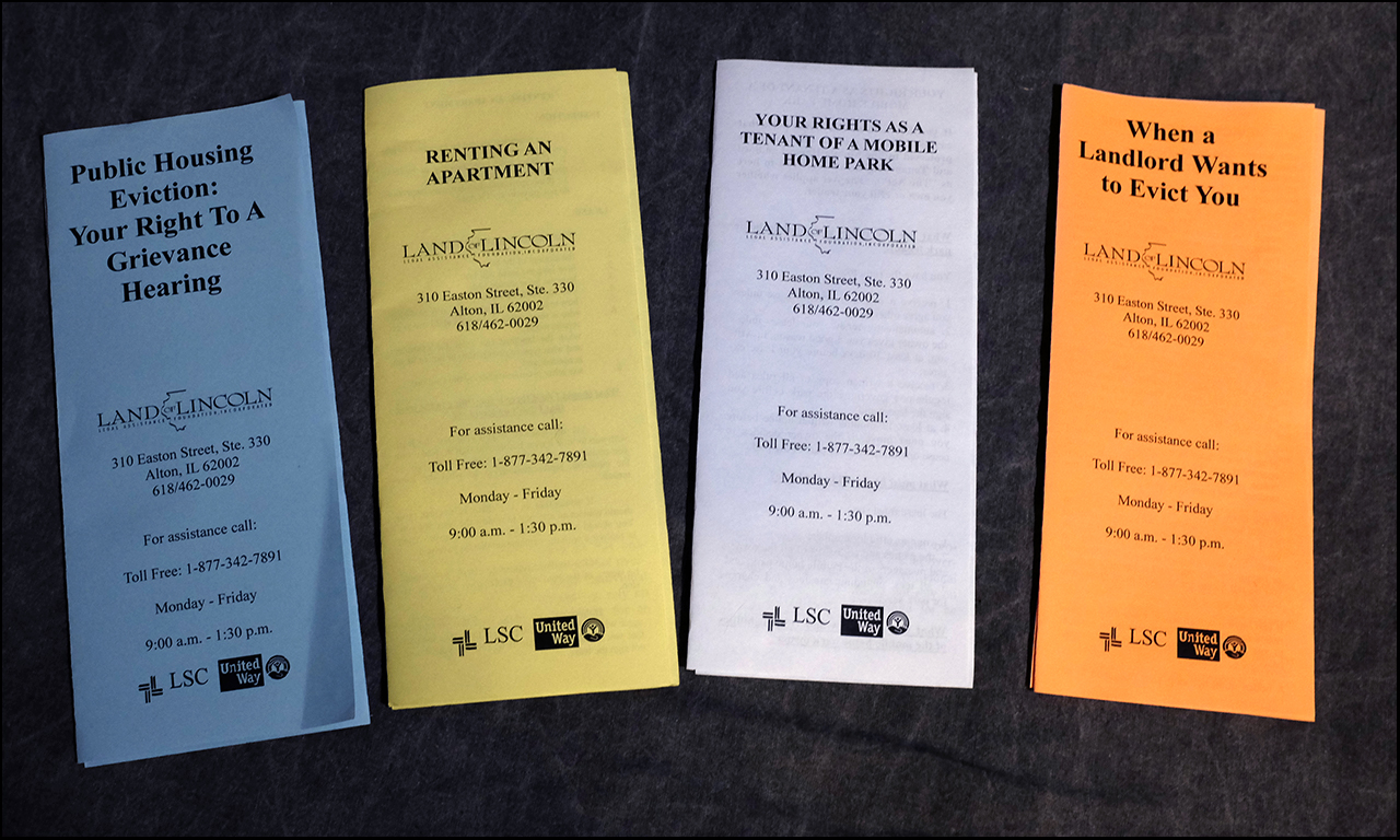 These pamphlets provided by the City of Quincy Human Rights Commission are available just inside the main door on the west side of Quincy City Hall, located at 730 Maine St. #1, Quincy, IL 62301.