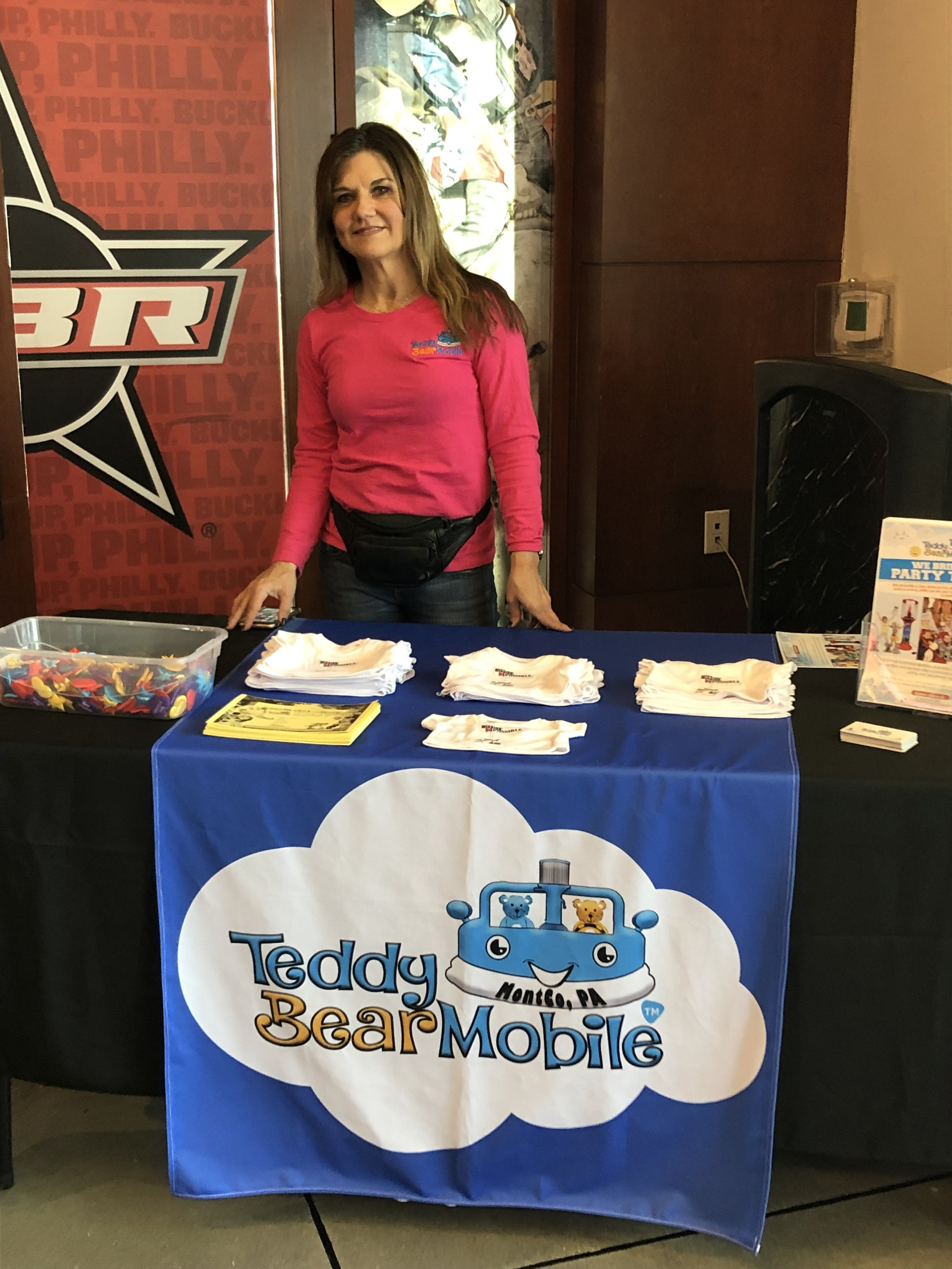 Tamara from Teddy Bear Mobile, Montco, PA