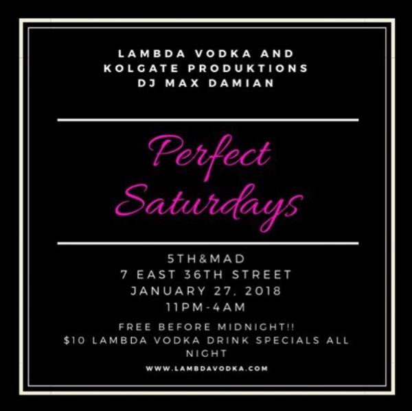 Get #LitonLambda - Perfect Saturdays featuring dj max damian
