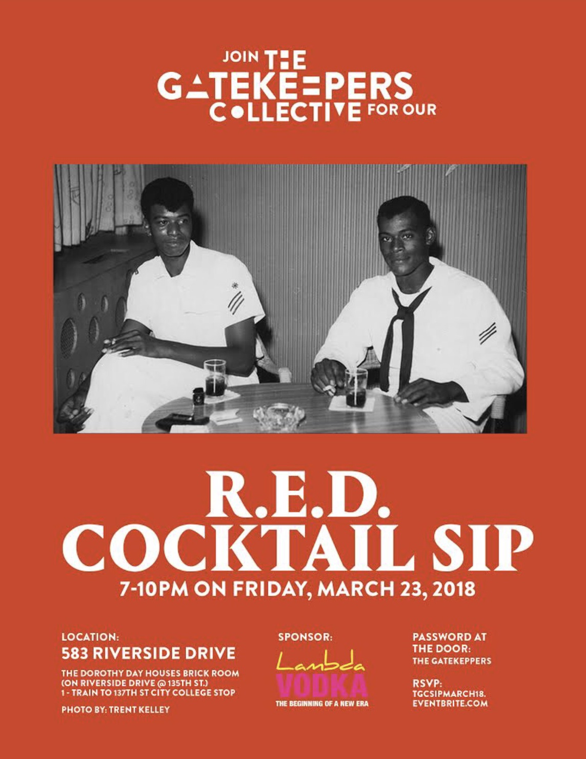 The Gatekeepers collective cocktail Sip -