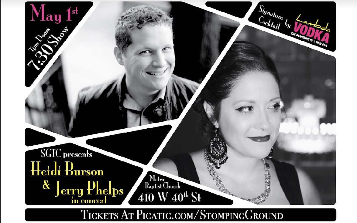 SGTC Presents... - Jerry Phelps and Heidi Burson in Concert