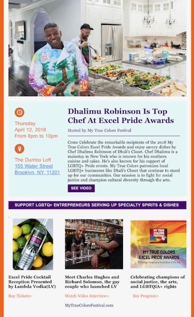 My true colors pride awards - celebrating champions of social justice and the arts