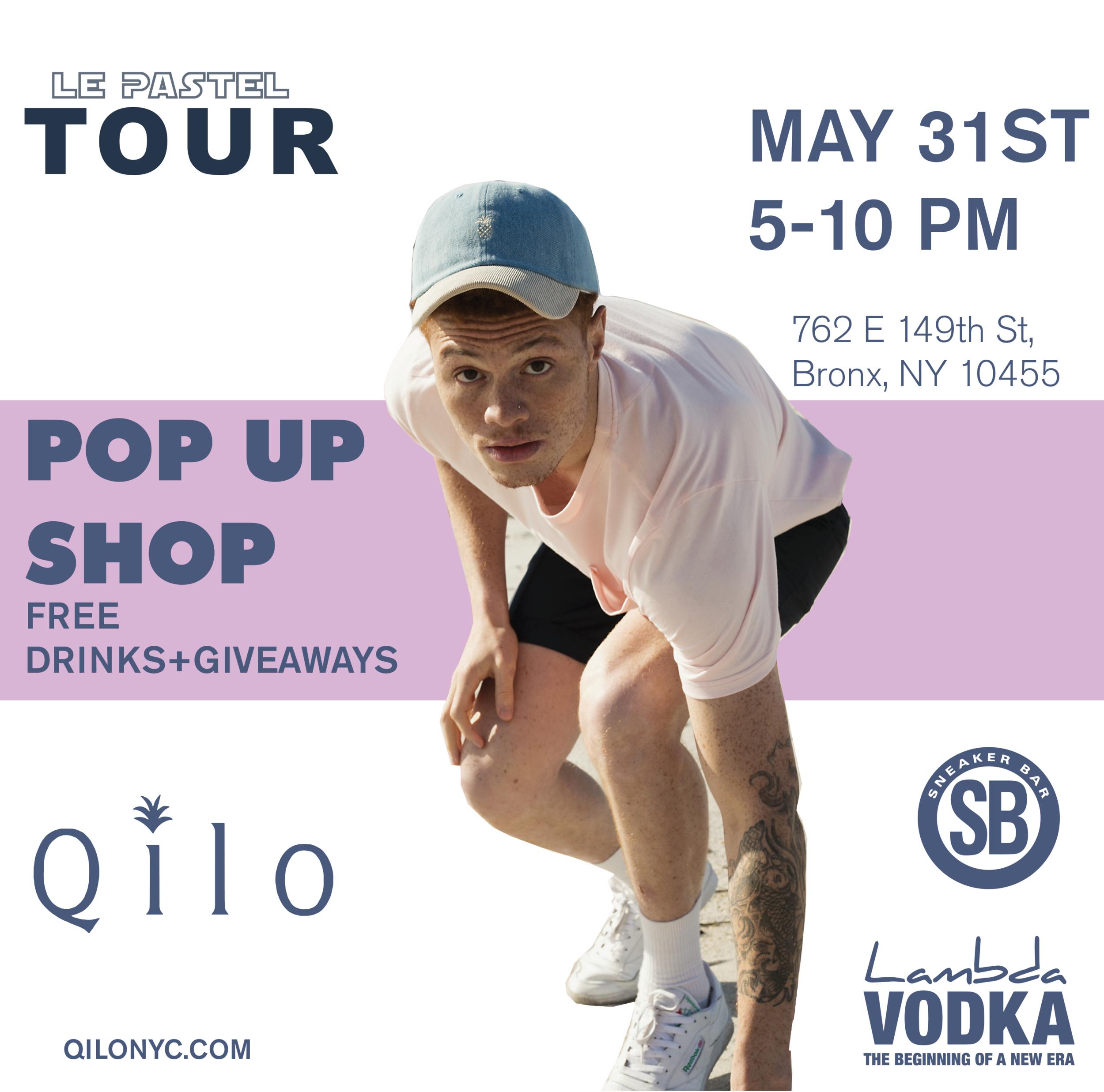 Qilo clothing brand - Pop-up shop