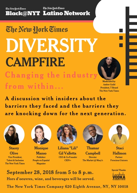 the new york times - diversity campfirepanel discussion