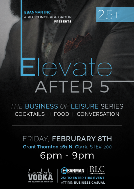 Elevate After 5 - The business of leisure series