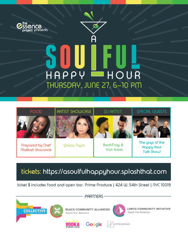 soulful happy hour -