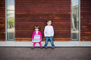 """""""Yehudis took plenty of time to get our kids to warm up and in return got amazing pictures that truly show their personalities! We love every picture and have received so many compliments. It was a great experience we would love to repeat in the future!"""" - – Weiss Family"""