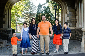 """""""Yehudis made all of us feel comfortable right away.We have never actually enjoyed taking pictures with out kids before and spent the whole time laughing together! It felt more like a family outing then a photo shoot."""" - – Weintraub Family"""