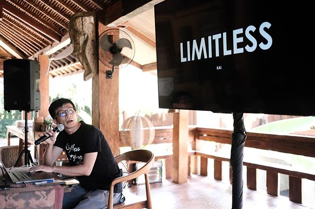@kai_picture on stage right now. #limitlessworkshop2019