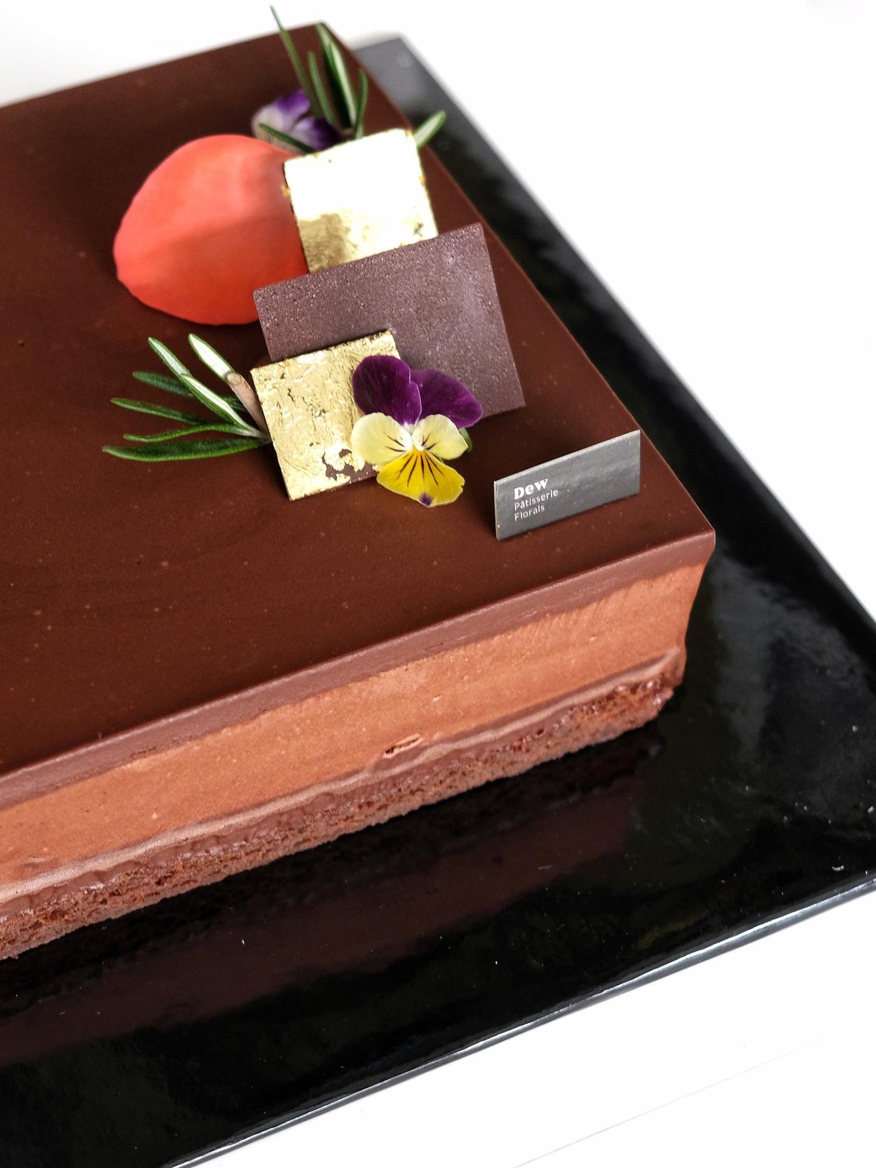 100% Chocolate Cake