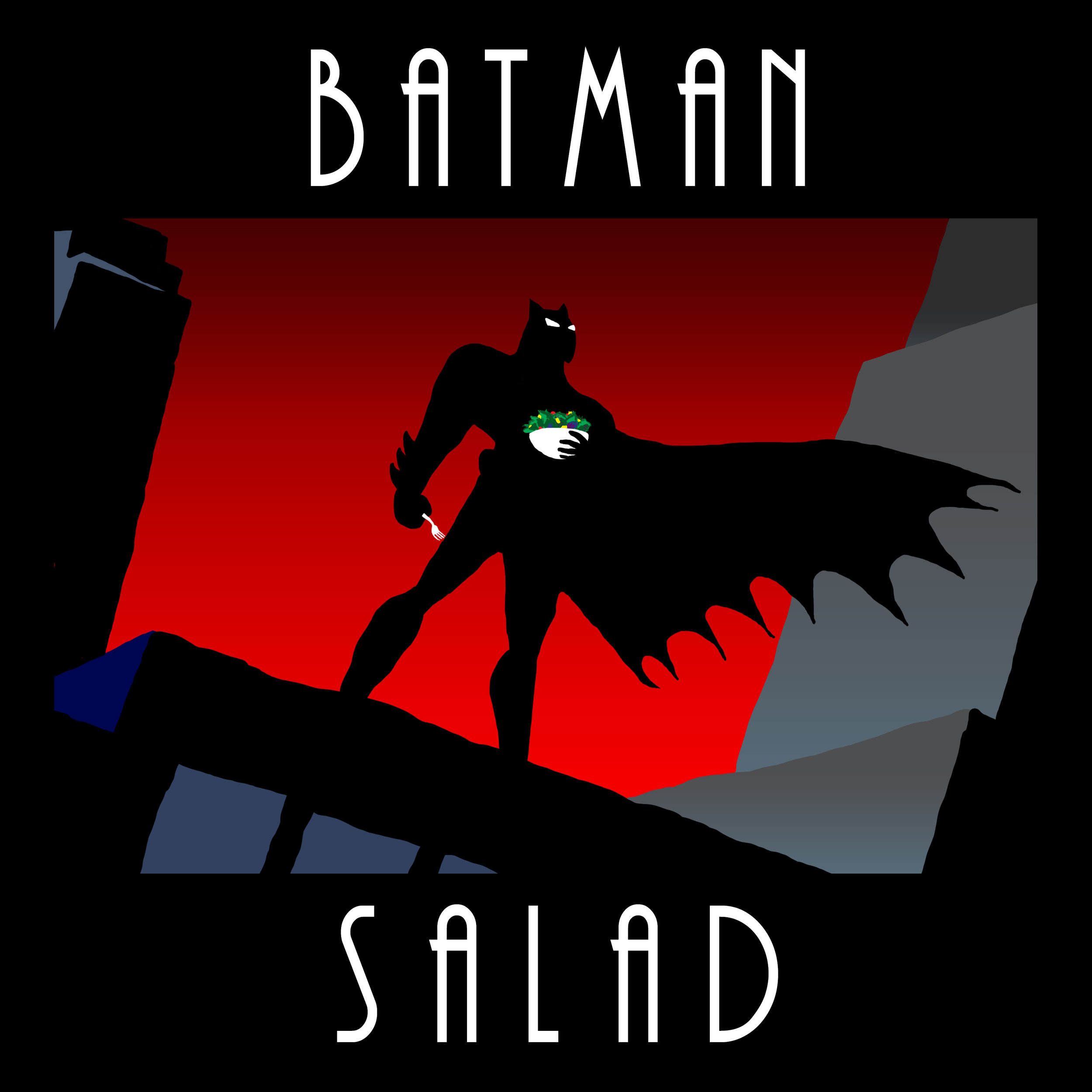 Batman Salad
