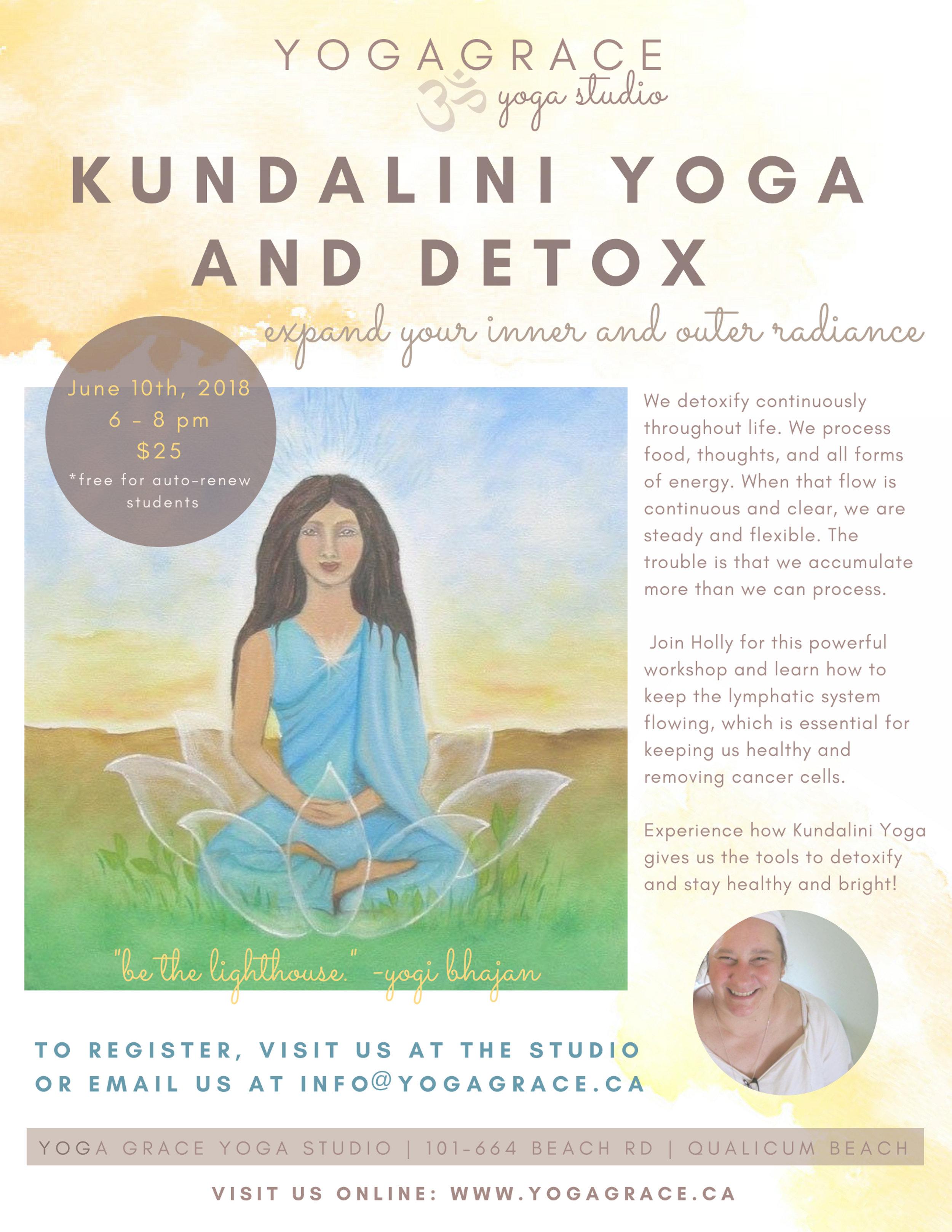 Kundalini and Detox Workshop