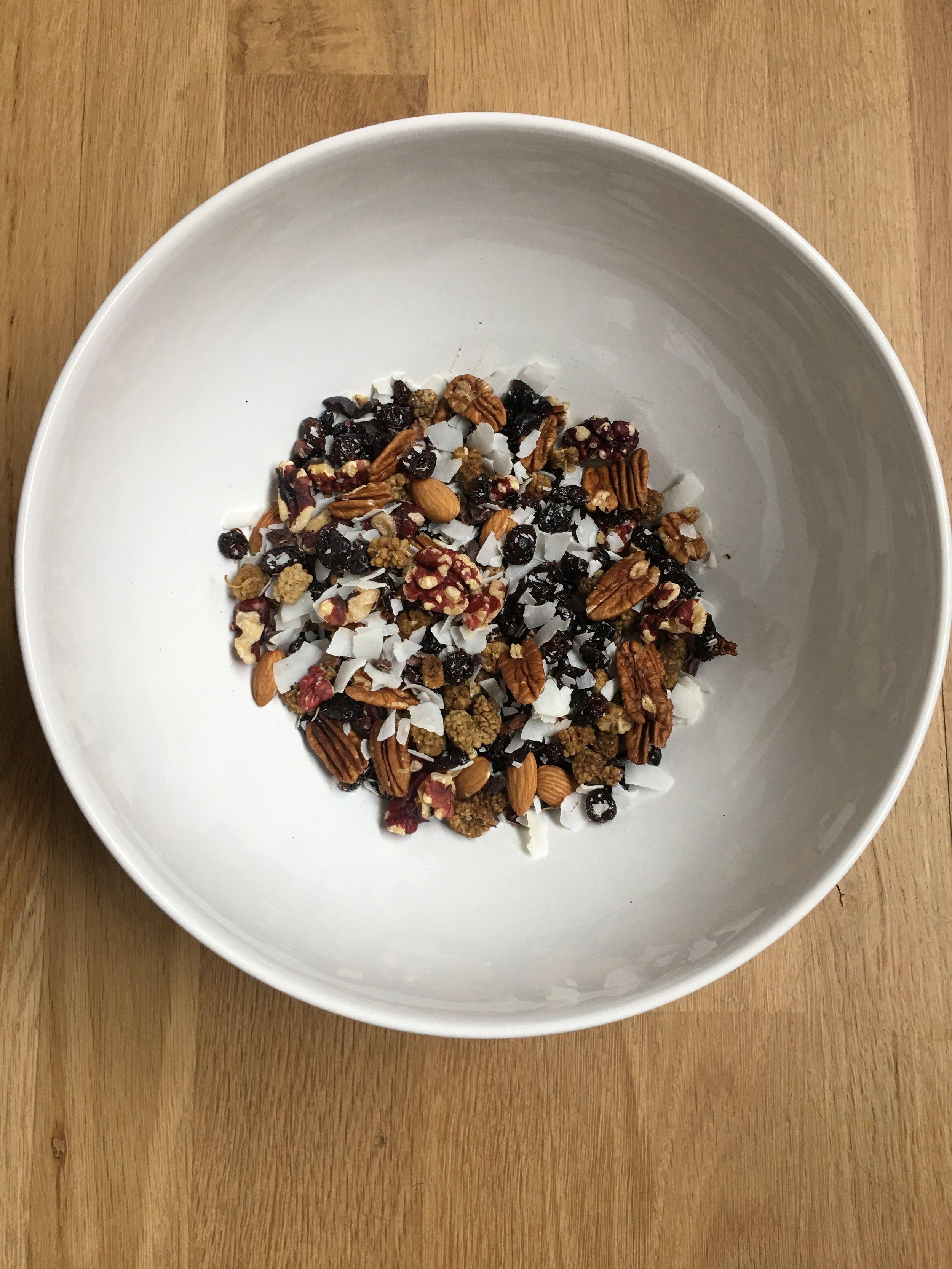 Nutrition Atlanta homemade trail mix- so easy, so healthy!
