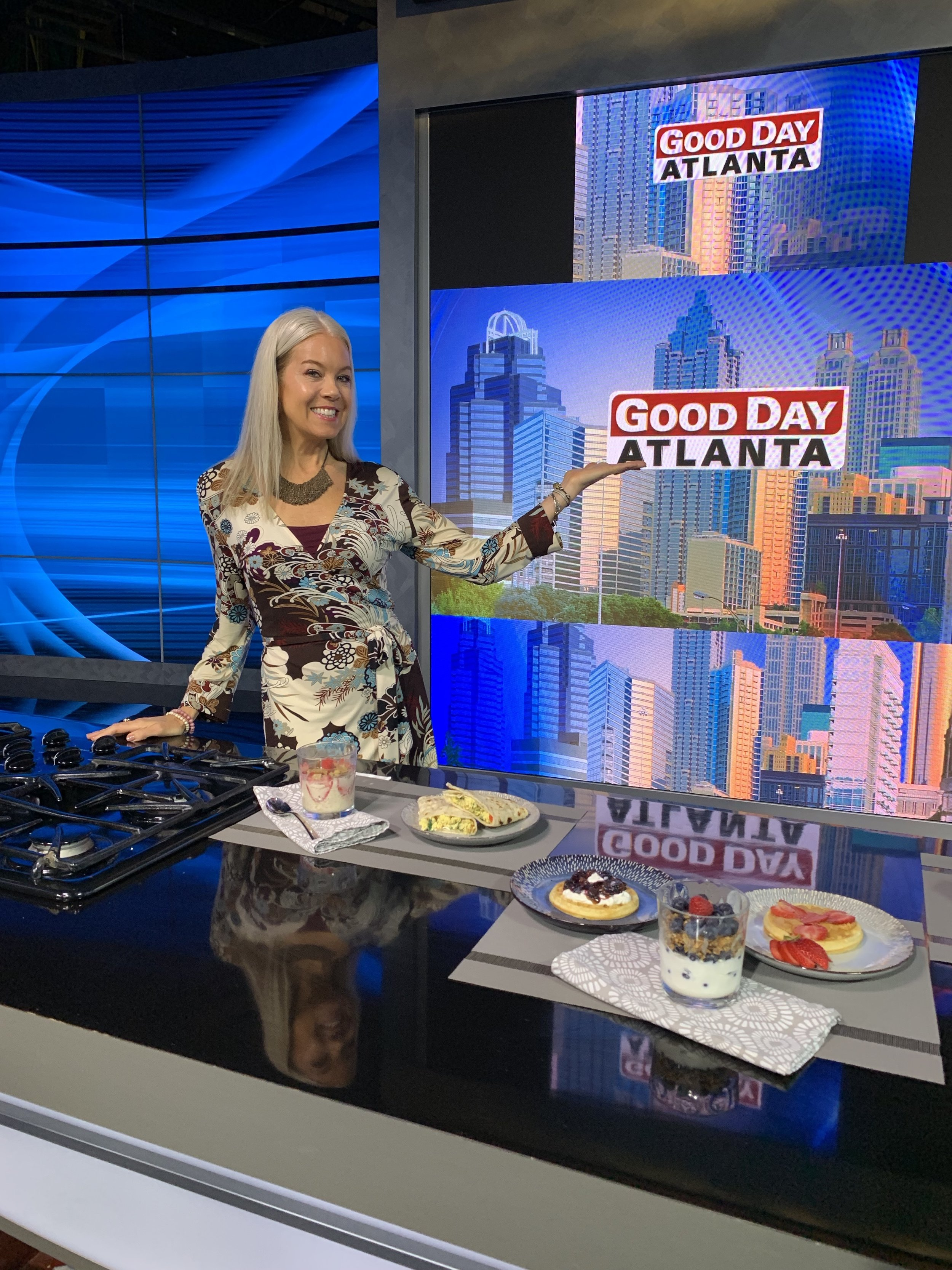 Jennifer is also popular for Atlanta-area media speaking engagements, most recently with Fox 5 Good Day Atlanta, 11 Alive, the Georgia Lupus Summit and Moving Day Atlanta: Walk for Parkinson's. -