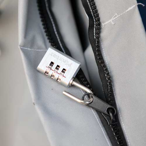 the original porch pirate bag zipper lock