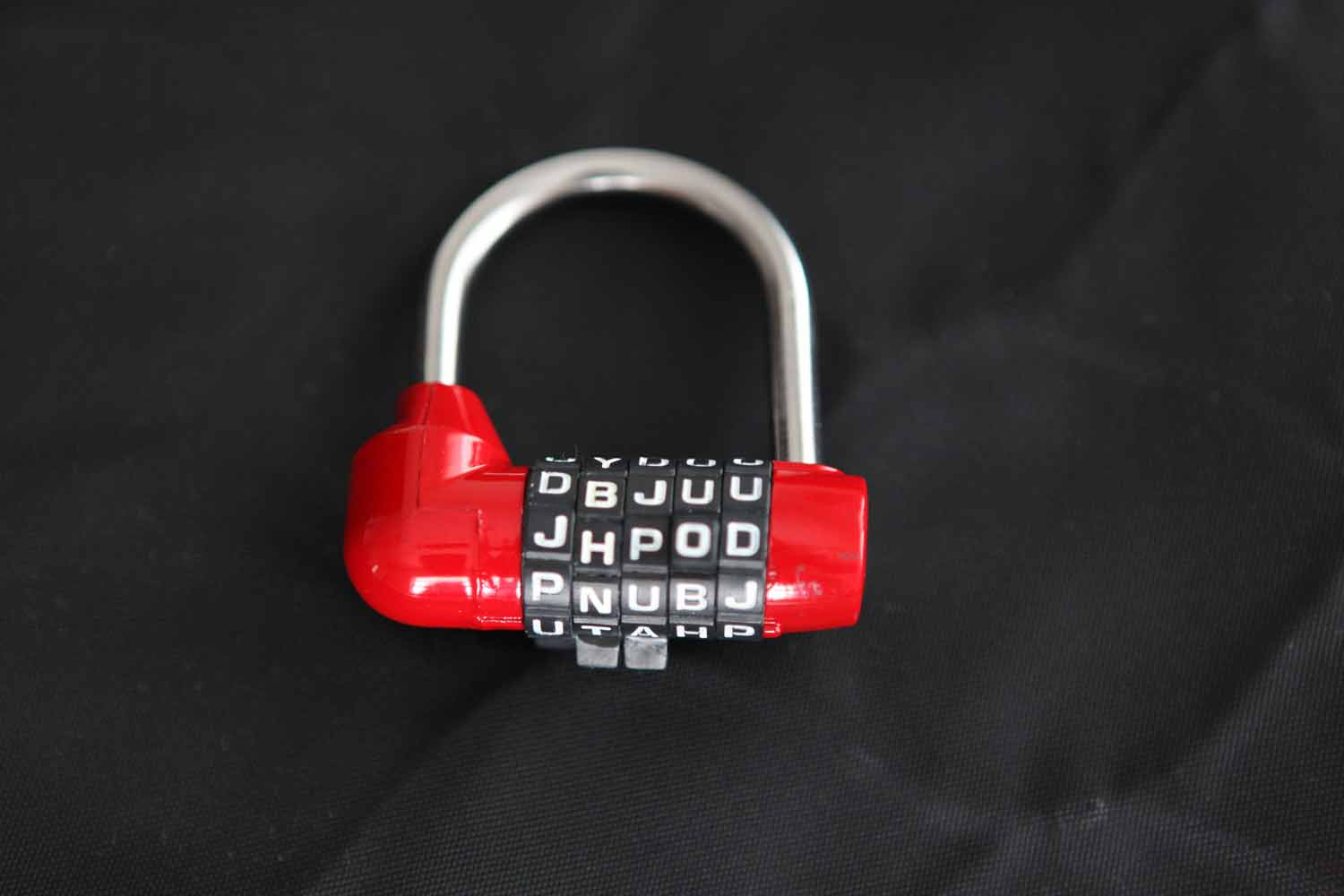 The package panther 5-Dial Combination Padlock