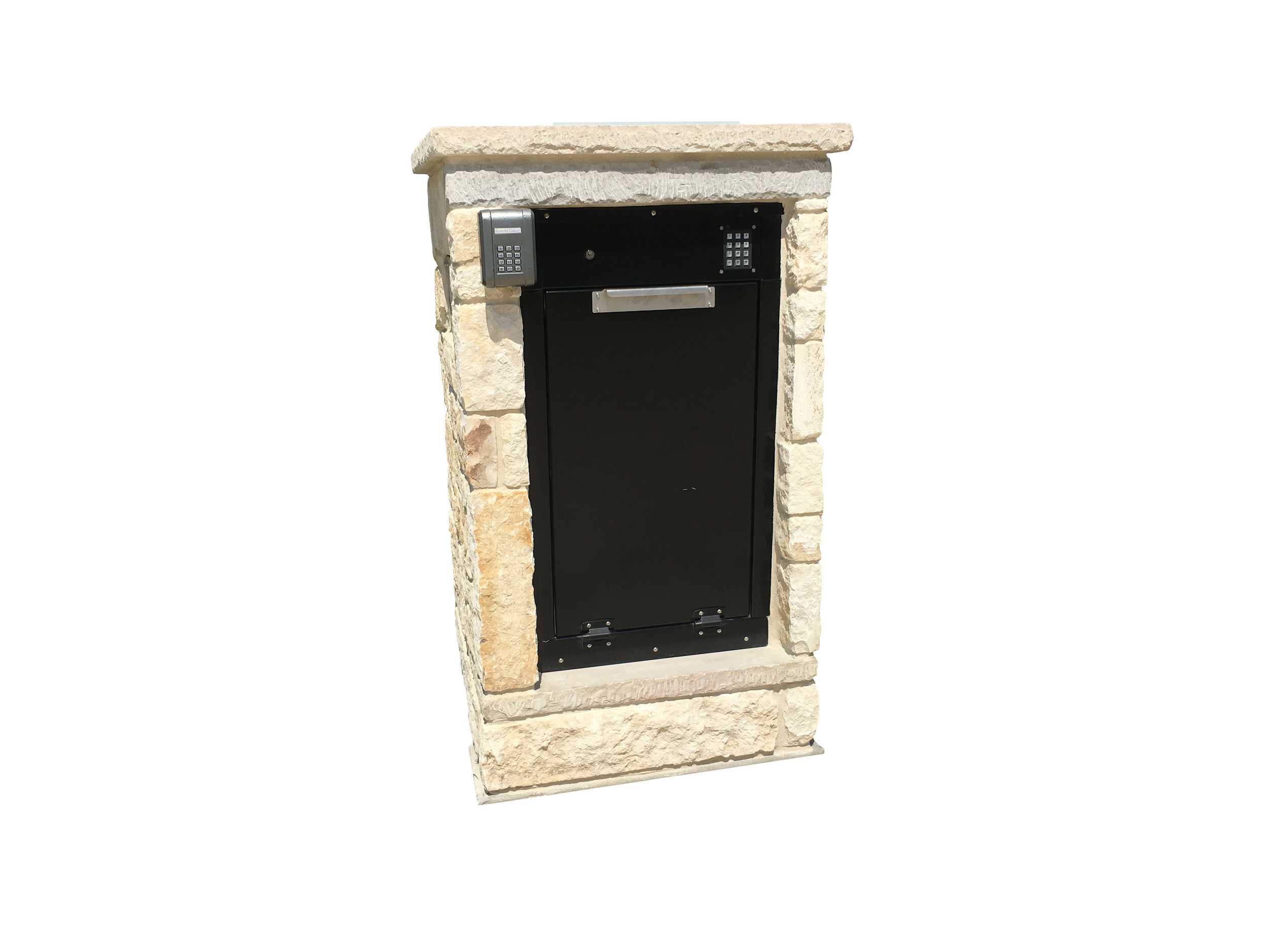 The Box Sentinel is designed to be installed in many different settings including within an exterior wall.