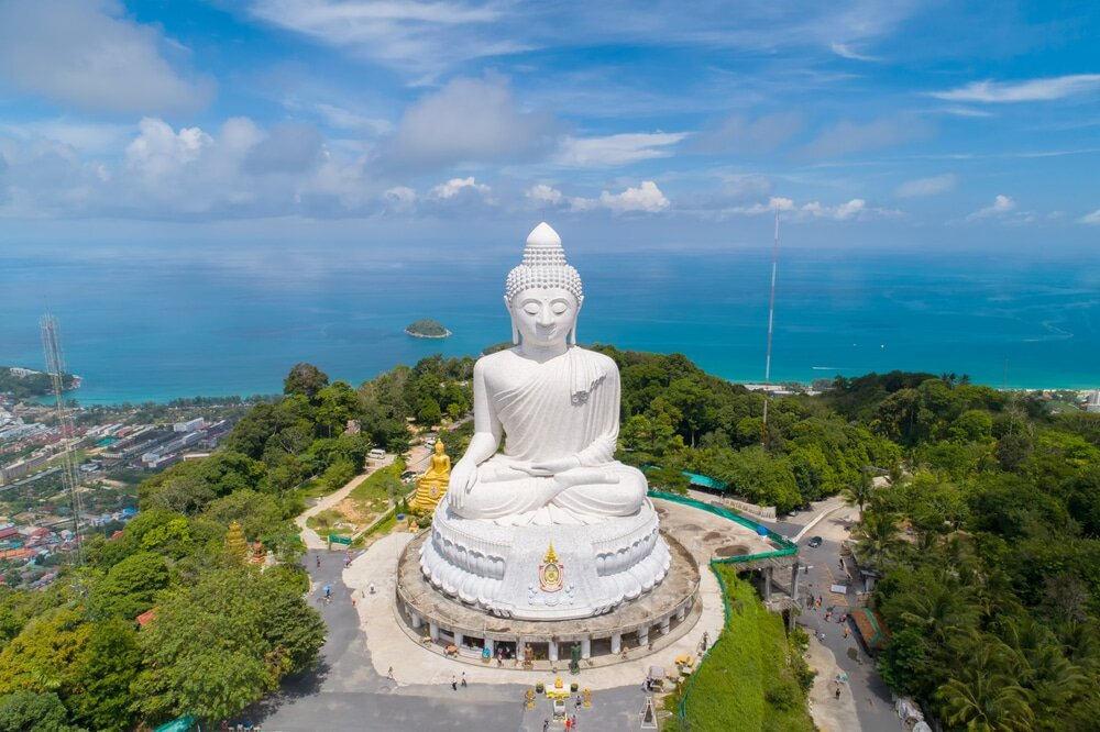 day 7 - Today we visit the Big Buddha. Phuket's Big Buddha is one of the most important landmarks on the island. Later that afternoon, you will have the option to use it as you please or join us at the beach in Patong beach where we will spend the afternoon.