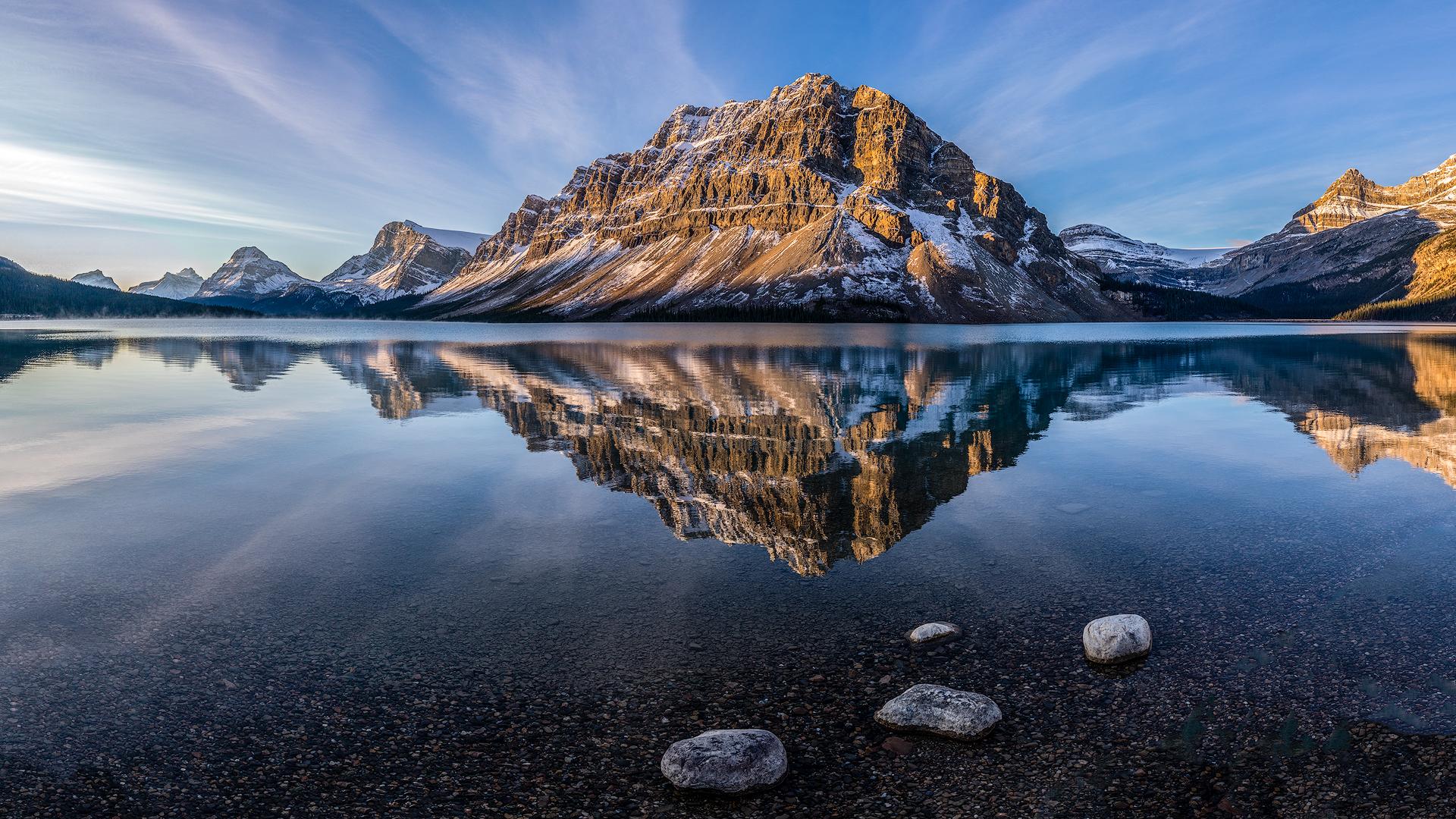 - Image by David Rowlands - Bow Lake
