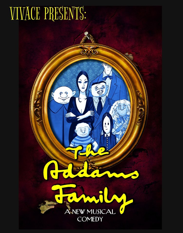 The Addams Family - Wednesday Addams, the ultimate princess of darkness, is all grown up and has a shocking secret that only Gomez knows. She's fallen in love with a sweet young man from a respectable family. With his cherished Morticia in the dark, will Gomez manage to keep his daughter's secret until the two families meet for a fateful dinner with hilarious consequences? Join them, plus Uncle Fester, Lurch, Pugsley and more for a heart-warming story of love, family and friendship… with a twist! THE ADDAMS FAMILY is sure to entertain whether you are 7 or 107!
